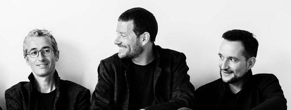 Quentin DUJARDIN, Matthieu SAGLIO, Samuel CATTIAU - Photo © Valérie NAGANT