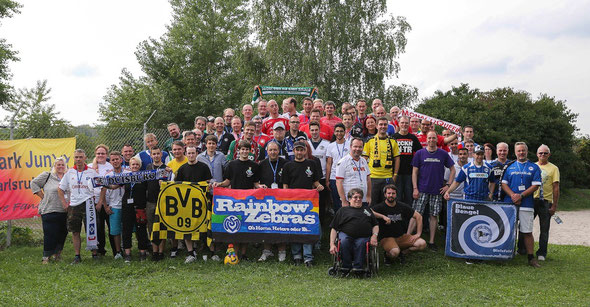 Gruppenfoto QFF Treffen Karlsruhe