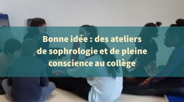 Gaëlle Piton sophrologie au collège. Pleine conscience au collège. Education bienveillante. Gratitude
