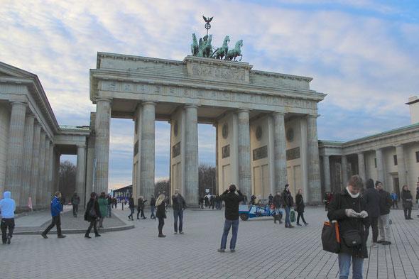 … und das Brandenburger Tor