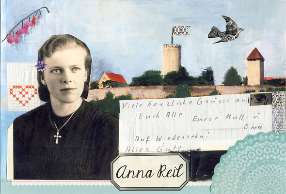 individuelle Trauerkarten www.christine-hohenstein.com