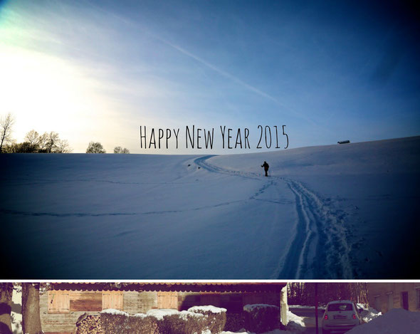 Happy new year 2015! www.christine-hohenstein.com