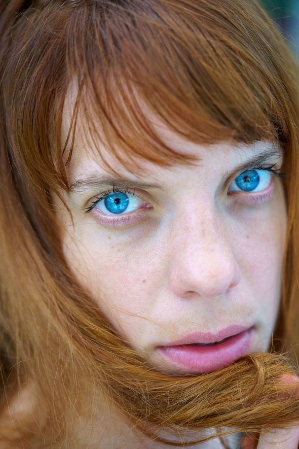 Ja, Robin hat wirklich so blaue Augen