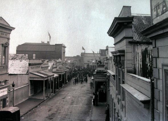 Revell Street, Hokitika, c1913 (Hokitika Museum)