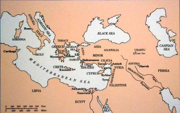 Cyprus and the ancient Mediterranean World (from British Museum Display Room 72)