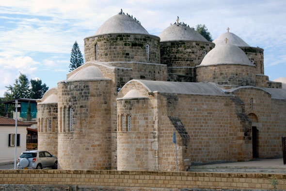 The 10th century Byzantine church of St Barnabas and Hilarion at Peristerona, Nicosia District