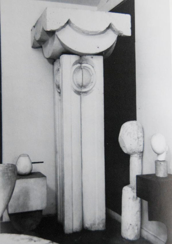 Brancusi' Studio at the Impasse Ronsin, Paris