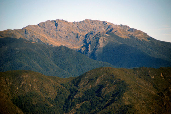 Devil River Peak (1784m) from Takaka Hill