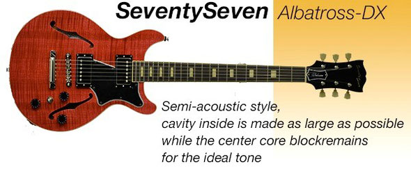 SeventySeven Guitars Albatross