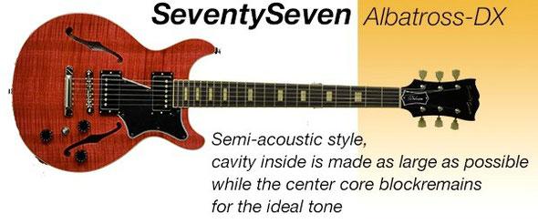 SeventySeven Guitars Albatross