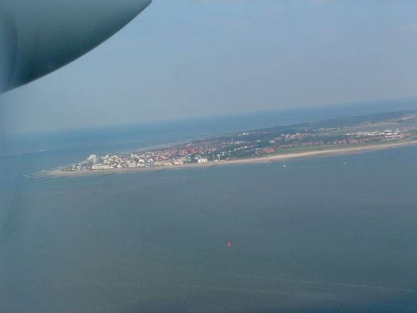 Norderney aus der Vogelperspektive