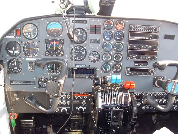 Warten auf den Piloten - wollte nicht selbst fliegen