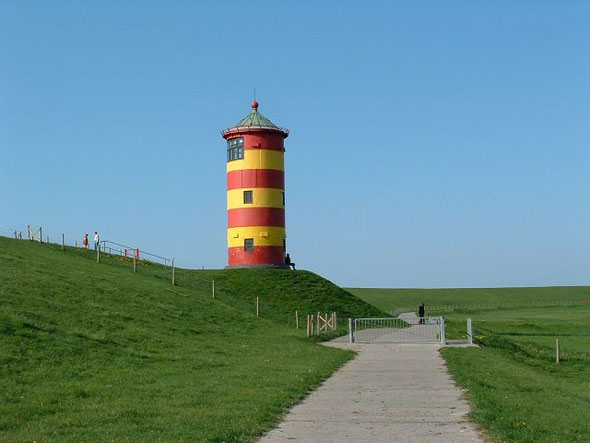 """Der """"Otto"""" - Leuchtturm in Pilsum"""