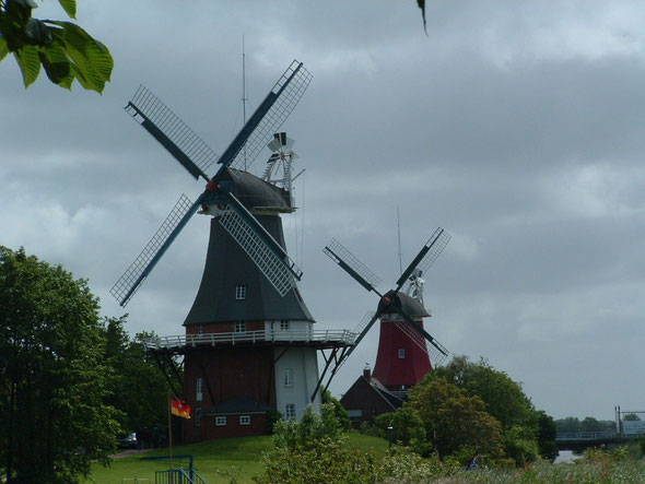 Greetsieler Zwillingsmühlen