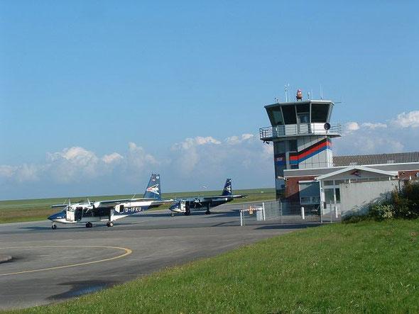 Landung in Norddeich