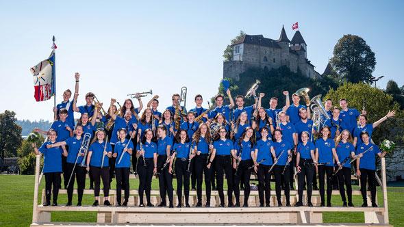 Jugendmusik VISPE am schweizerischen Jugendmusikfest in Burgdorf 2019
