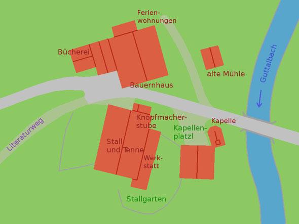 Detailkarte - Sturm-Archehof