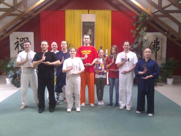 SDI Besuch im Shaolintempel Wien 2012