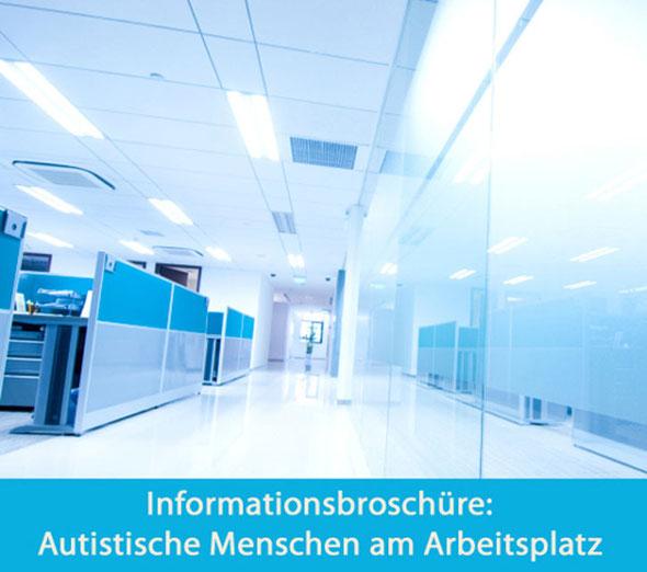 Broschüre: Autismus am Arbeitsplatz