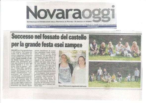 Novara Oggi del 19-09-14