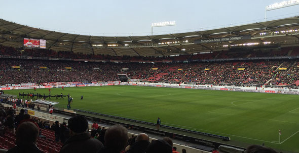 """""""Freunde FCA"""" Ausflug 2014 Stuttgart"""