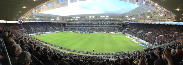"""Freunde FCA"" Ausflug 2015 Hoffenheim"
