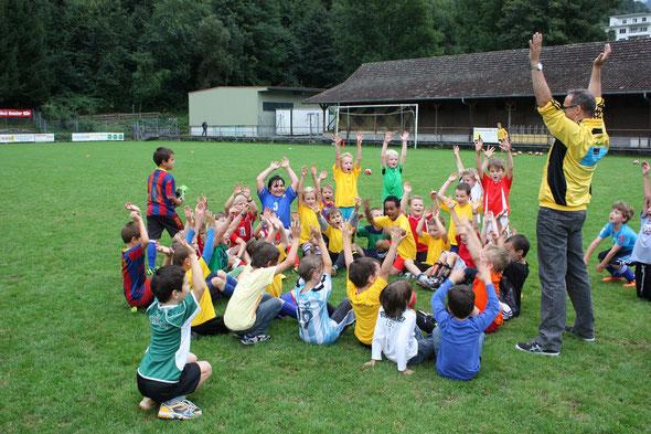 Foto der Fussballschule Frühling 2014
