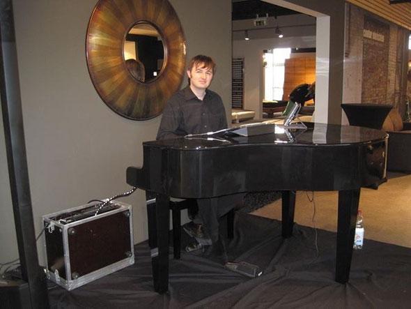 Pianist Florian Geibel für Trauungen und Hochzeiten