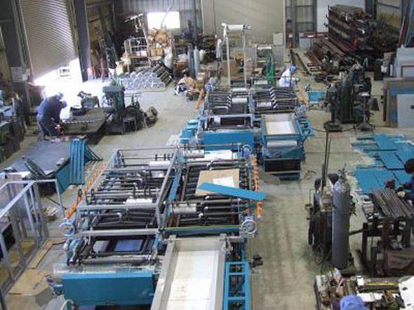 製菓.食品機械のふじみ野市製造工場