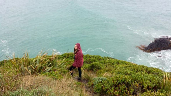 Beach in Dunedin