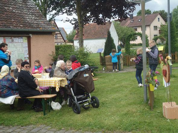 Kirchweihküchele am Kräutergarten