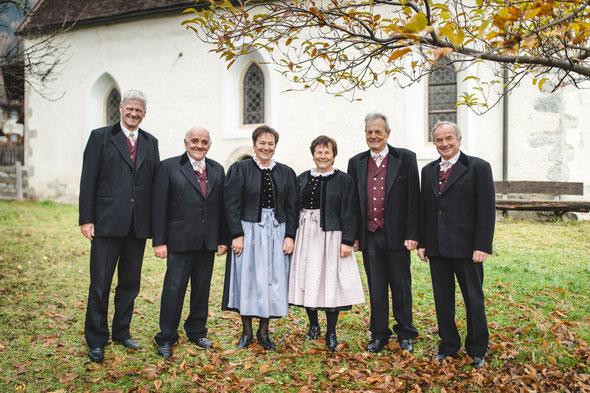 """Die """"Korterrunde"""" vom Kirchenchor"""