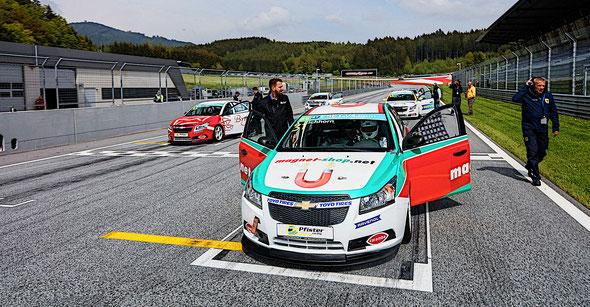 Rennfahrer aus Bad Salzuflen Dennis Bröker Chevrolet Cruze Eurocup 2019 Toyo Tires Oschersleben Pfister-Racing Tourenwagen Hoyer
