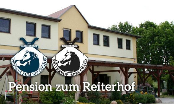 Pension zum Reiterhof Eingebettet in die idyllische Spreewaldlandschaft, zwischen den Orten Schmogrow und Saccasne.