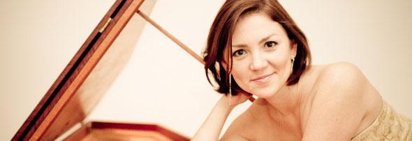 Pianistin Anastasiya Zheludkova aus Leipzig, Halle