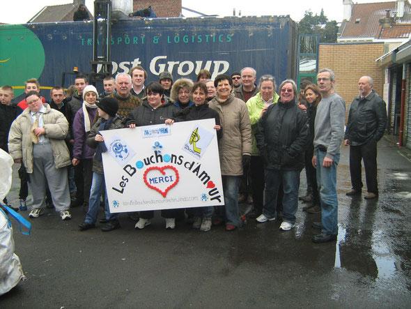 les bénévoles mars 2012