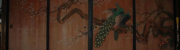 蒼泉寺の板絵(御前山地域長倉)