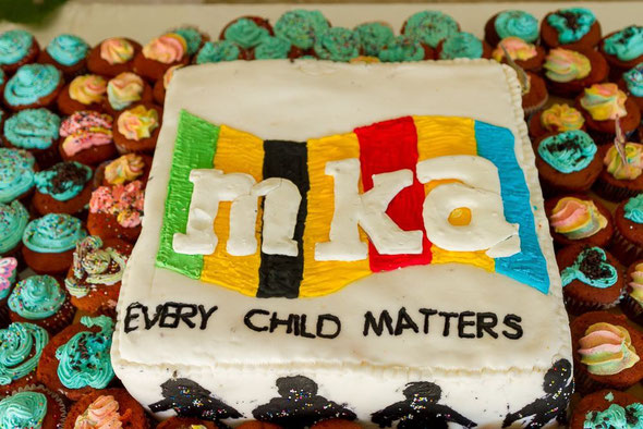 Our chef, Fatima Alhassan made this amazing cake with her student catering group. The cakes raised GHS1000 for Multikids Foundation.