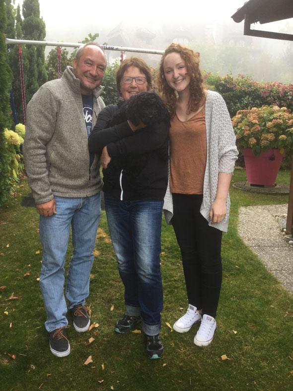 HARRIS (Aramis) ist nach Würenlingen zu Marianne, Thomas und Alessia gezogen