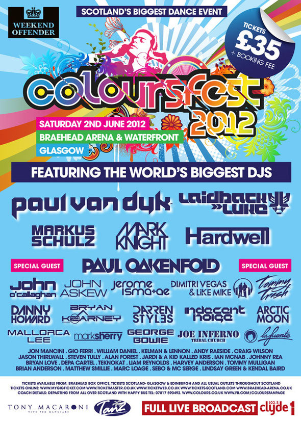 Coloursfest 2012