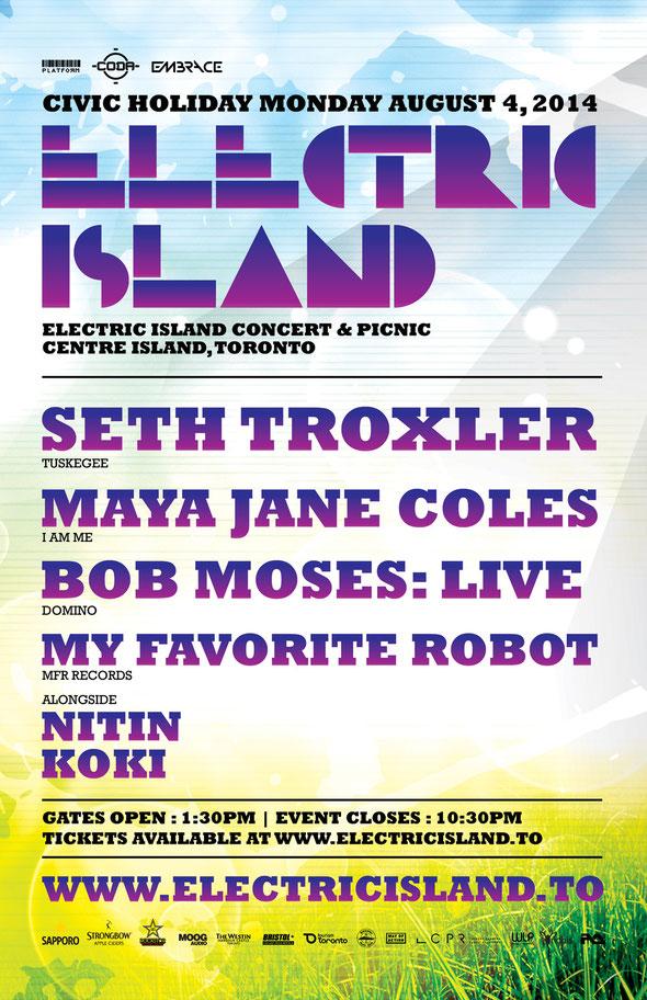 Electric Island Toronto 2014 | justaweemusicblog.com