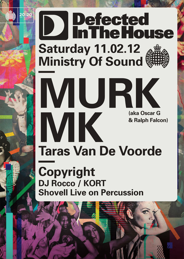 MURK - Defected In The House @ Ministry Of Sound