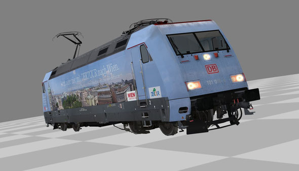 BR 101 016-4 als Modell für EEP