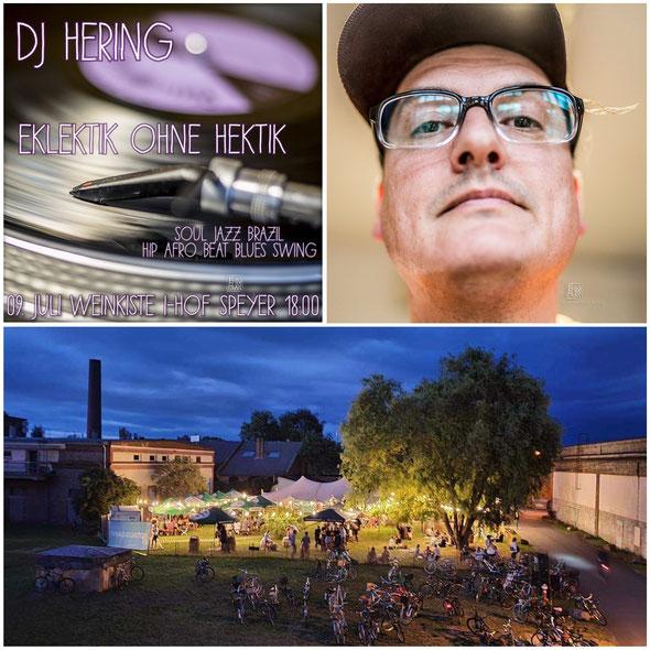 dj hering cerin eklektik ohne hektik zur weinkiste industriehof garten speyer hintergrundmusik lounge super