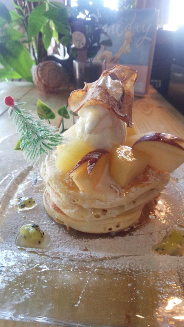 白雪姫のパンケーキは間もなく期間限定にて・・・もうしばらくお待ちくださいね!