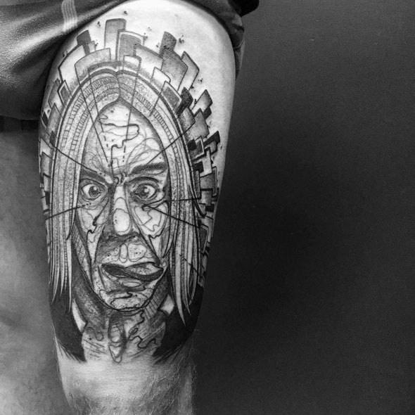 Iggy Pop tattoo