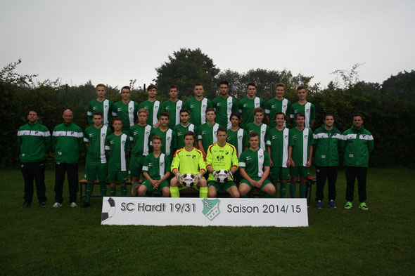 U19 SC Hardt    Saison 2014/15