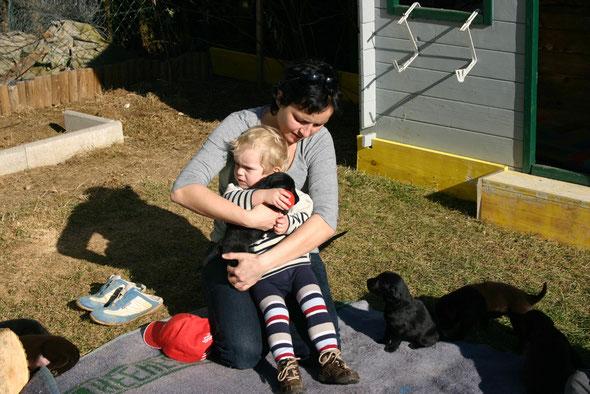 Averna mit Ihrer neuen Familie am 24.2.2008