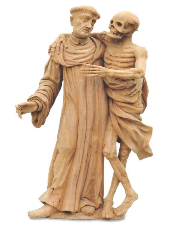 Kopie der ursprünglichen Holzstatue in Kaisten