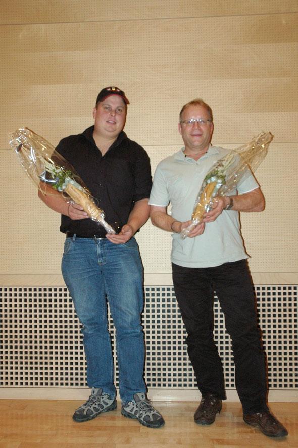 Unsere neuen Freimitglieder Arnold Thomas , Bucher Markus, es fehlt Merz Roman
